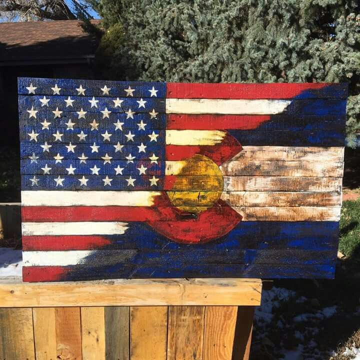 Pin by Trenci Towner on Palate Projects! | Colorado flag ...