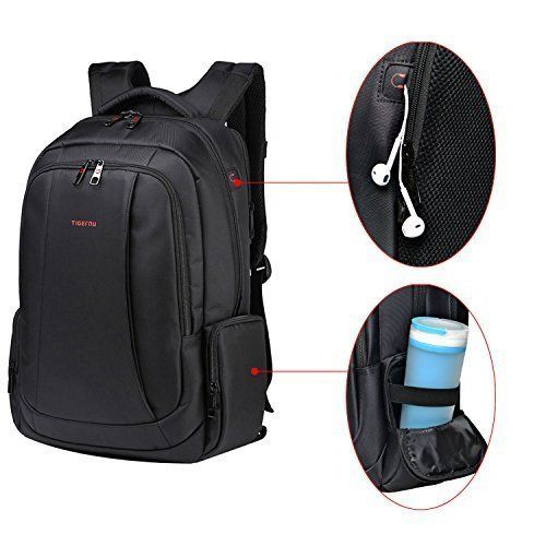 School Backpack Laptop College Travel Business Office Anti Theft Dual Zippers #SchoolBackpackLaptop #Backpack