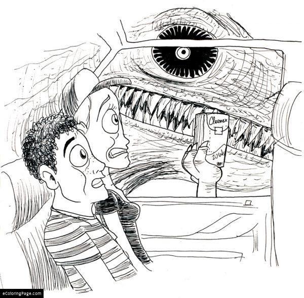 jurassic park indominus rex dibujo colorear | Indominus ...