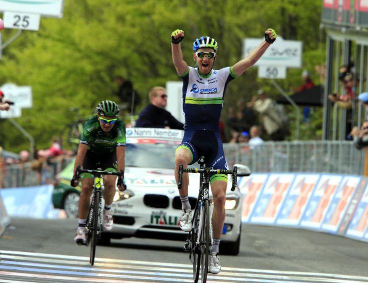 ORICA GreenEDGE Cycling Australia : News : Pieter Weening Wins Giro d'Italia Stage Nine from Early Break