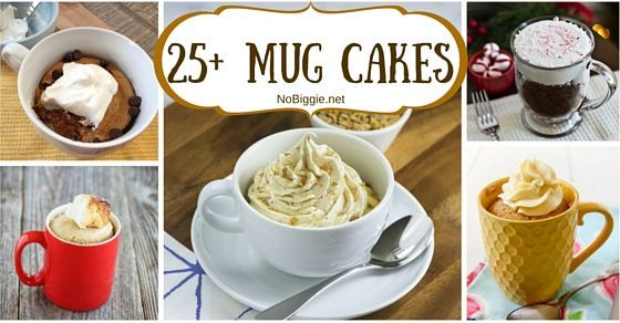 """What's better then a delicious slice of cake? MUG CAKES! A delicious homemade cake cooked in a mug and it only takes a few minutes to make AND """"bake."""""""