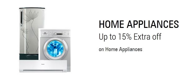 Appliance & Electronics Sale – Get Juicer, Mixer grinder, Microwave ,Iron, Headphone & More  at Extra 15% Off