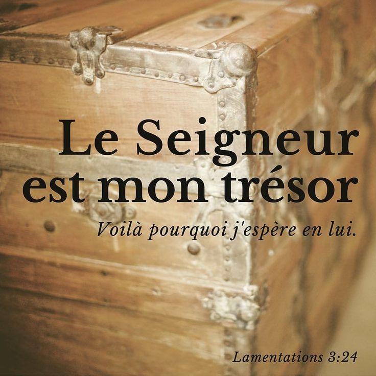 Est-il TON #trésor? #versetdujour #bible