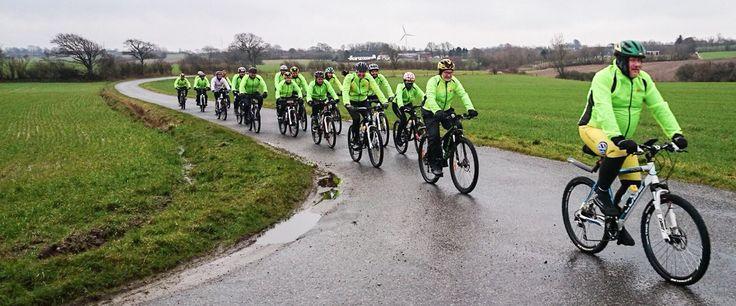 Team Rynkeby Trekanten 2015. MTB træning. #trtrekanten #boernecancerfonden
