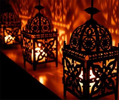 Moroccan Lamps. I love lights!!!!