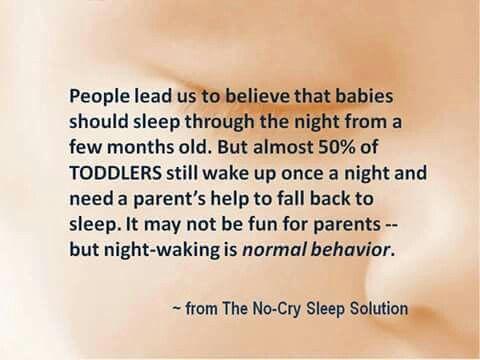Babies normal sleep cycle