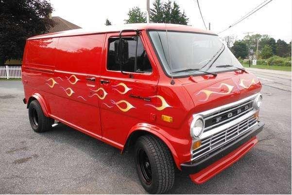 1970s custom vans restored for sale autos post. Black Bedroom Furniture Sets. Home Design Ideas