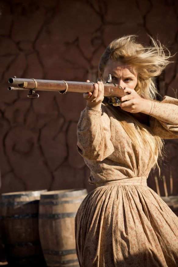 Lyric. I just changed my genre to steampunk, so I can have old-fashioned guns now!!