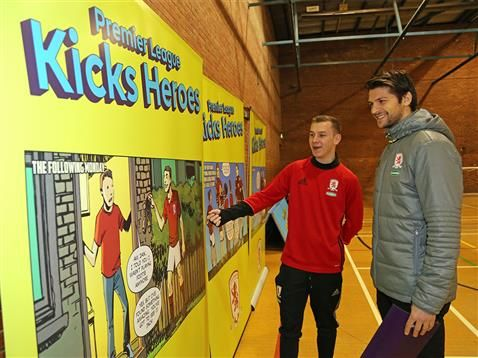 Middlesbrough FC Foundation Ambassador of the Year Jack Wilson is named as Premier League Kicks Hero