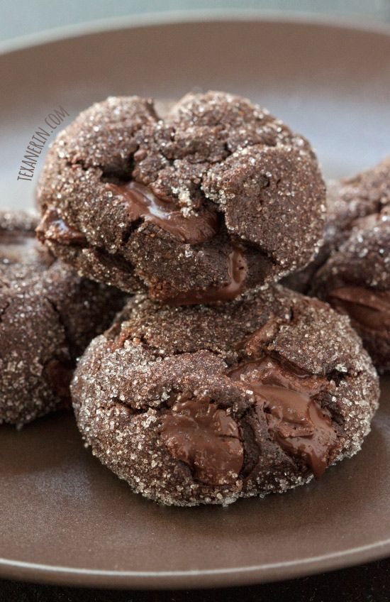 Soft and Chewy Chocolate Gingerbread Cookies – 100% whole grain and dairy-free!