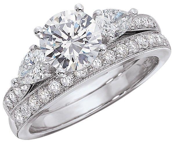 Martin Flyer Engagement Ring