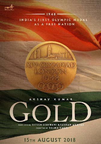 Akshay Kumar tweeted about his next venture of patriotism. The first look was revealed on Friday on his twitter handle. The poster of movie was all about India, Indian Flag and Indian Olympic, the film is all set to release in year 2018