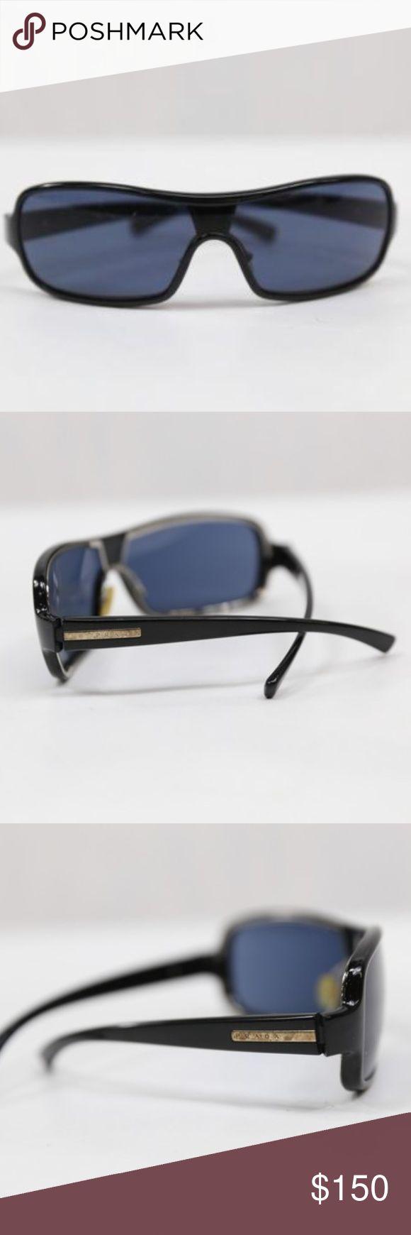 "🎄SALE🎄Prada Men's Sunglasses, Black Prada Men's Sunglasses  Approximate Measurement: 6"" x 2"" x 5""  Material: Plastic  Condition: Has scratches and smudges on frame  Color: Black Prada Accessories Sunglasses"