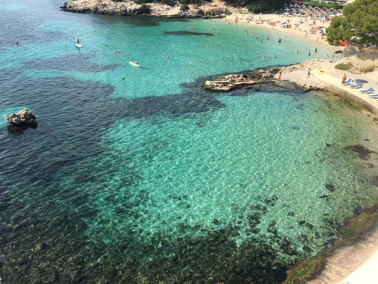 Illetas beach.