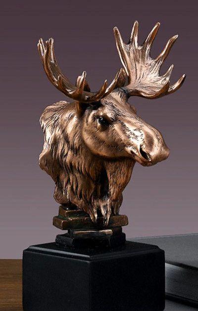 1000 Images About Moose Bronze Sculpture On Pinterest