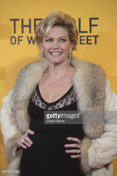 Fiona Fullerton attends the UK Premiere of 'The Wolf Of Wall Street' at Odeon Leicester Square on January 9, 2014 in London (396×594)