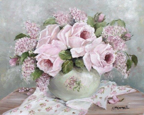 Gallery.ru / Фото #17 - Розовый винтаж художницы Gail Mccormack - Anneta2012