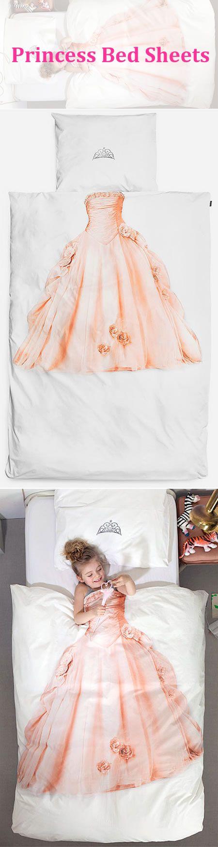 cool design princess bed sheets