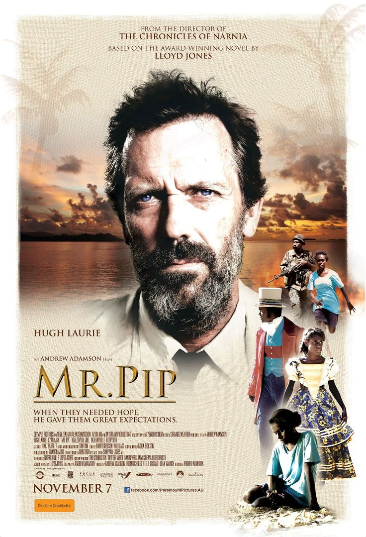 mister pip' by lloyd jones Bringing great expectations to desperate children ravaged by revolution, an eccentric teacher becomes a martyr to literature and transforms the prospects of a strong.