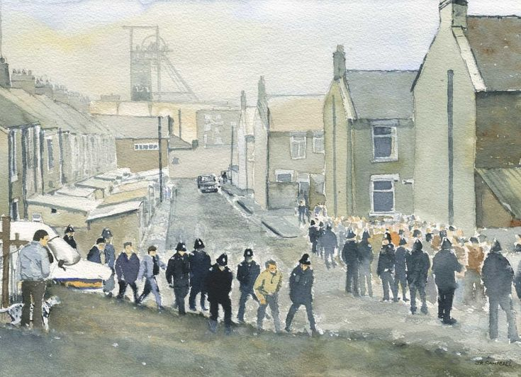 The Divided Village Easington Colliery, Ray Campbell