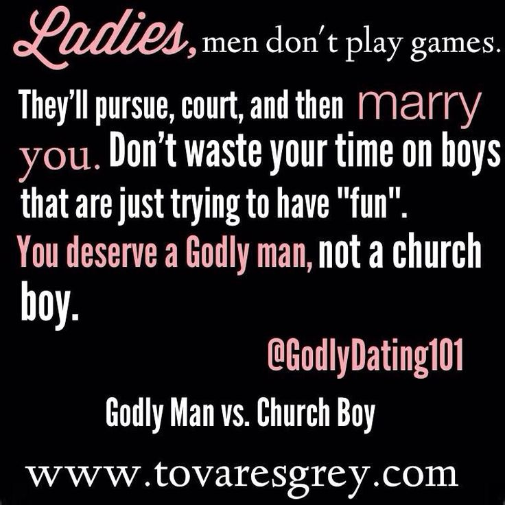Are you dating a godly guy