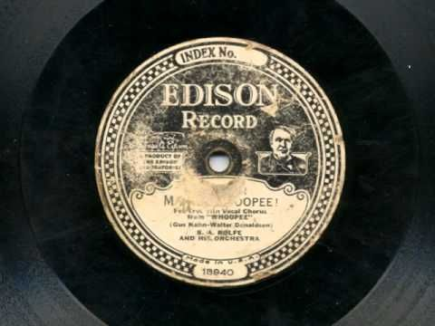 Makin' Whoopee by B A Rolfe and his Orchestra, 1928 - YouTube