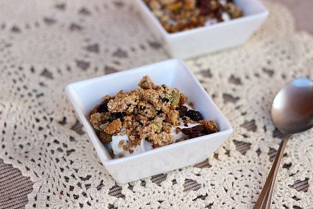 Paleo Almond Honey Granola