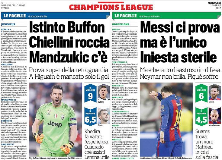 Corriere Dello Sport Champions