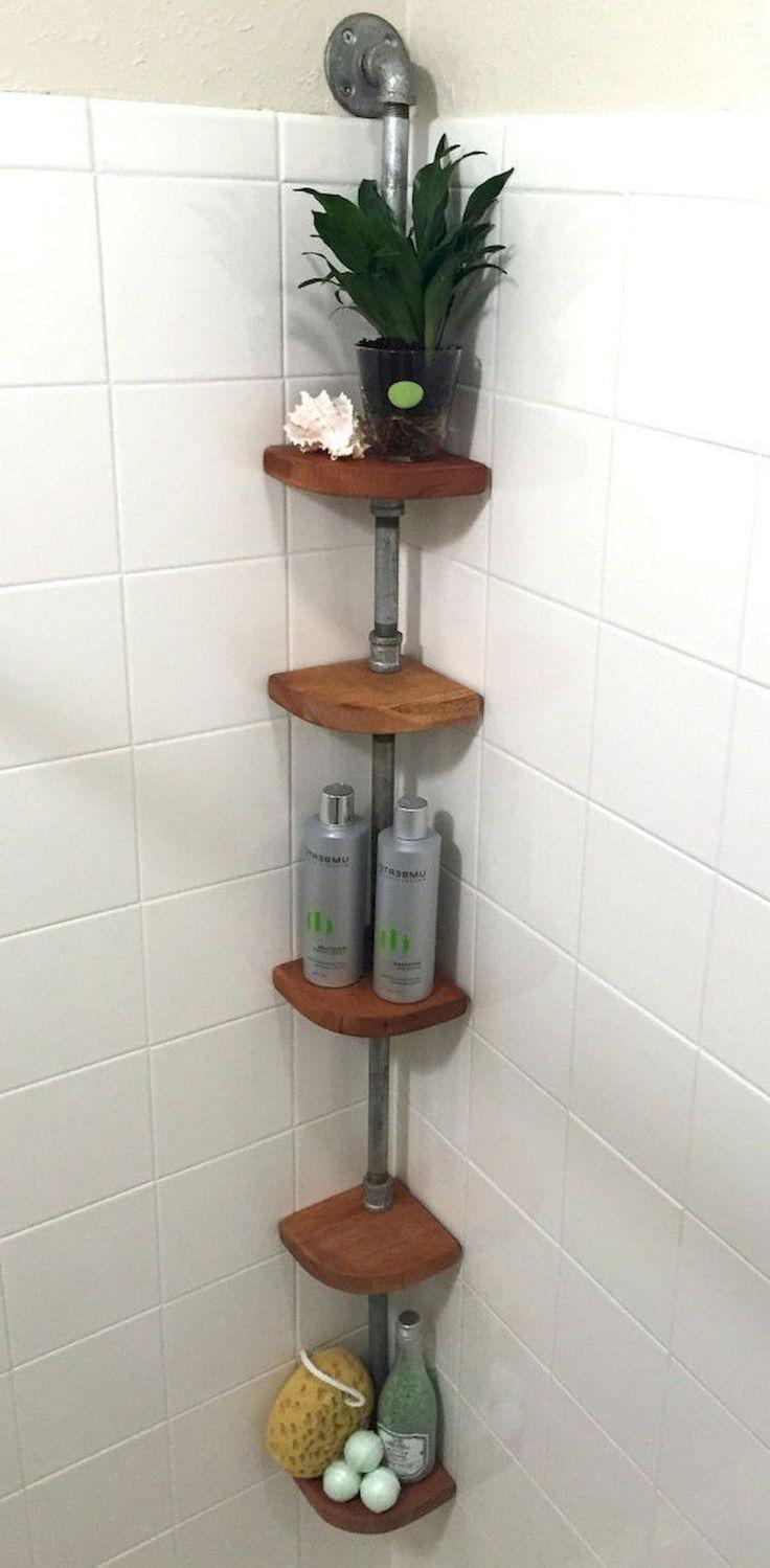 Wonderful Images Bathroom Shower Organization Concepts Kleine Badaufbewahrung Kreativer Speicher Bad Hacks