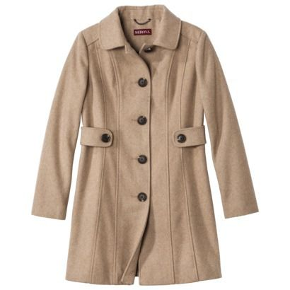 Merona Women's Long Wool Peacoat. Had I not found a great deal on a similar Michael Kors coat, I probably would have gotten this.