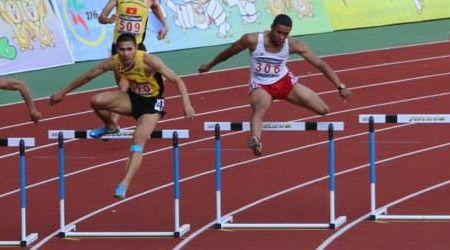 VIDEO : SEA Games 2013 Athletics – Men's 110m Hurdles | Pinoy Headline dot Com