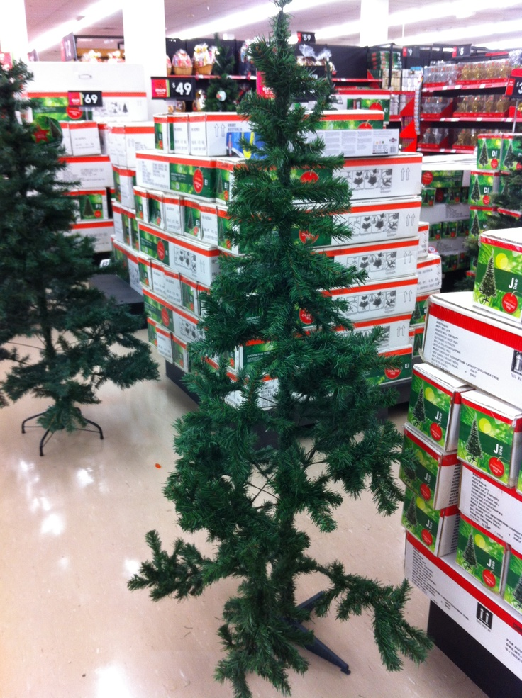 Cheapneck Kmart Xmas Tree 2013