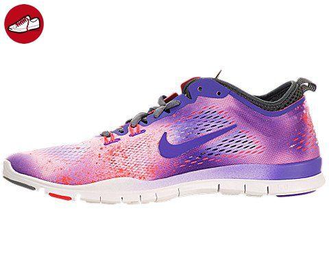 Nike Free 5.0Training Fit 4Damen-Laufschuhe, - Violett/Weiß - Größe: 7 (*Partner-Link)