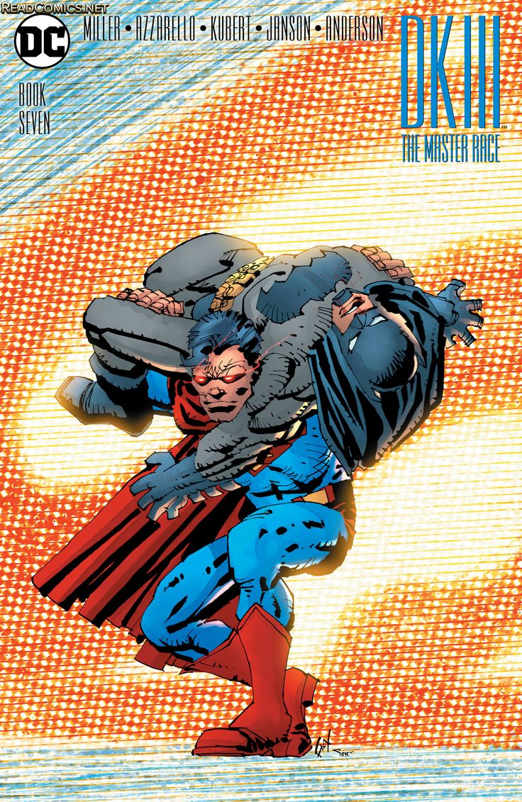 Dark Knight III - The Master Race (2016) 7 Alternate Cover Frank Miller (Batman Superman)