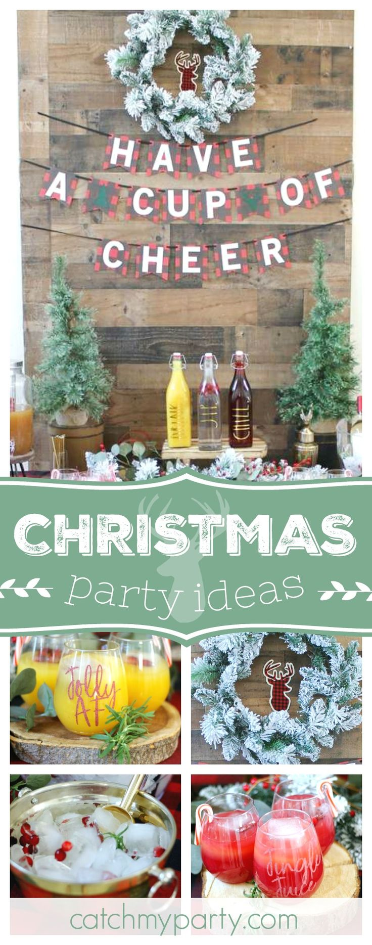 Christmas Drinking Party Ideas Part - 39: Pinterest