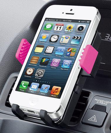 Look what I found on #zulily! Black & Pink Universal Smartphone Car Mount #zulilyfinds