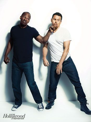 Jamie Foxx and Channing Tatum: Exclusive Portraits of the 'White House Down' Stars