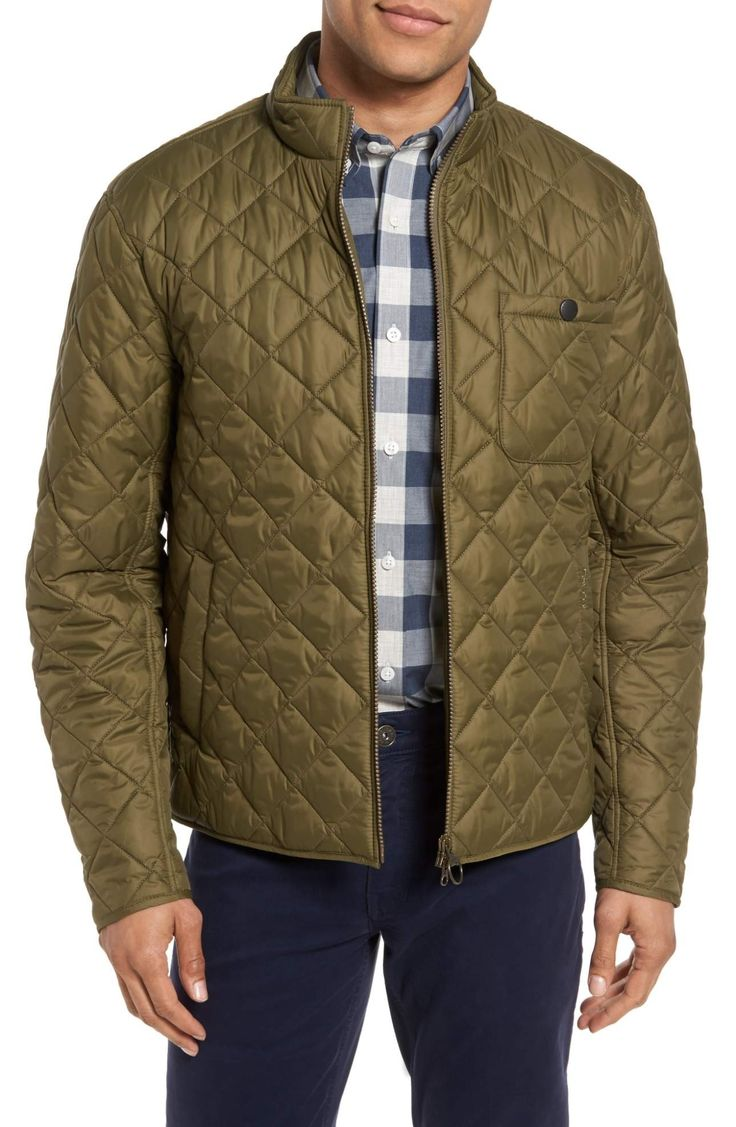 Quilted bomber jacket | Barbour