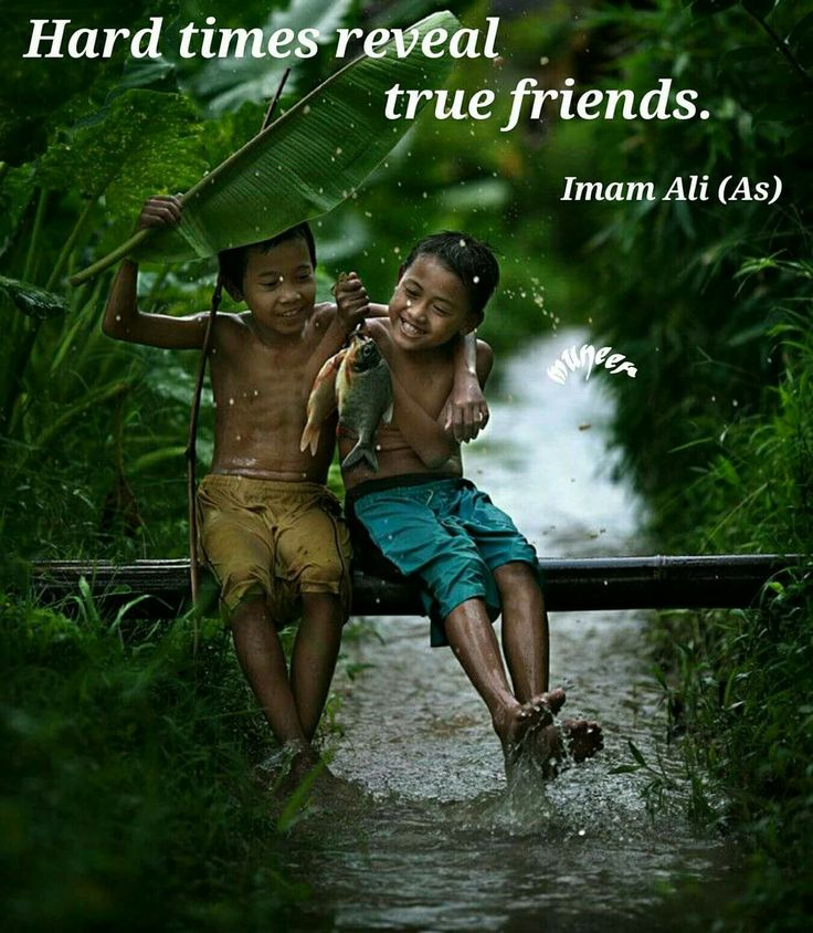 Hard times reveal true friends. - Imam Ali ... Ali was the cousin and son-in-law of Muhammad, the prophet of Islam. He ruled as the fourth caliph from 656 to 661, and was first Imam of Shia Islam from 632 to 661