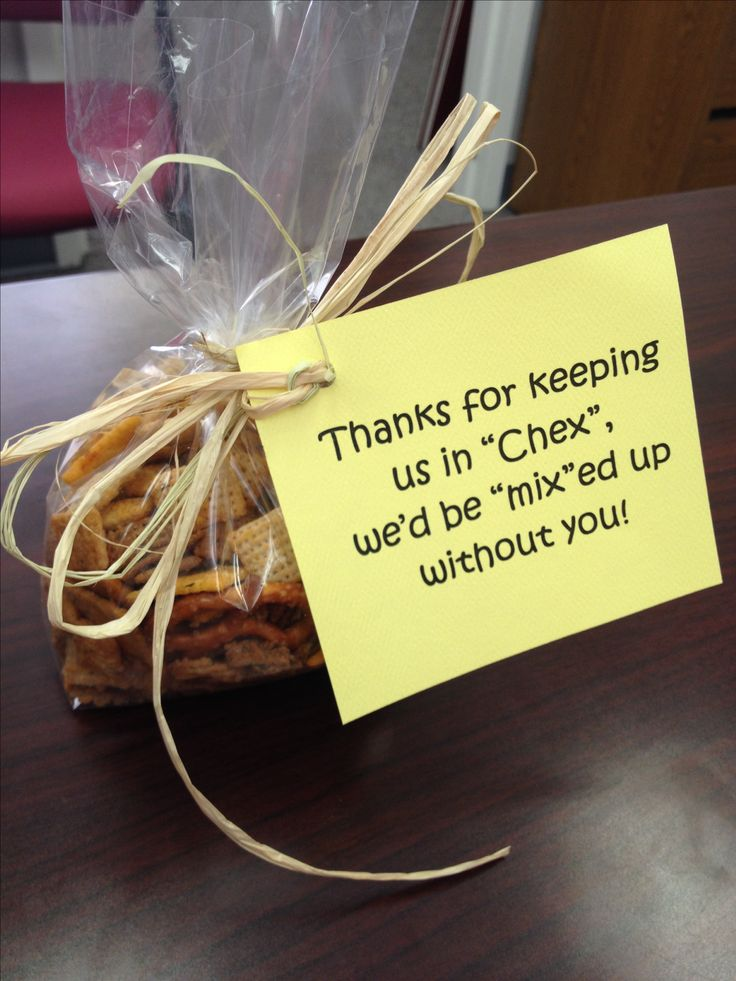 "WTAMU Student worker appreciation! Thanks for keeping us in ""chex,"" we'd be ""mix""ed up without you!"