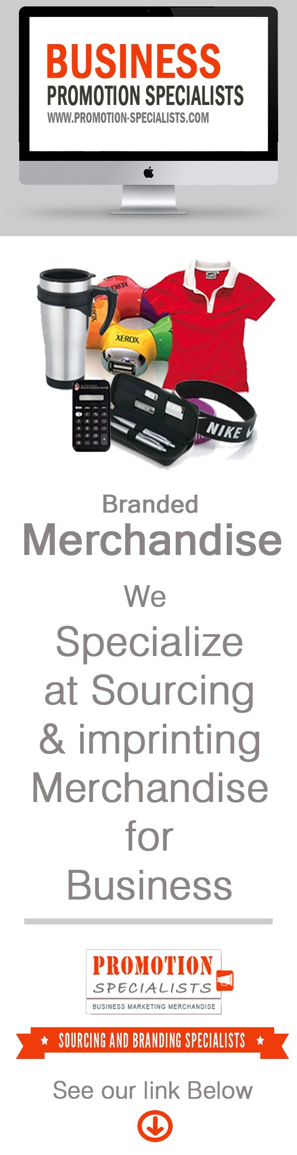 Let us source and imprint that perfect Promotional item or Gift  for your Business. Get a Free Consultation here:  http://www.promotion-specialists.com/contact-us/get-a-free-consultation/