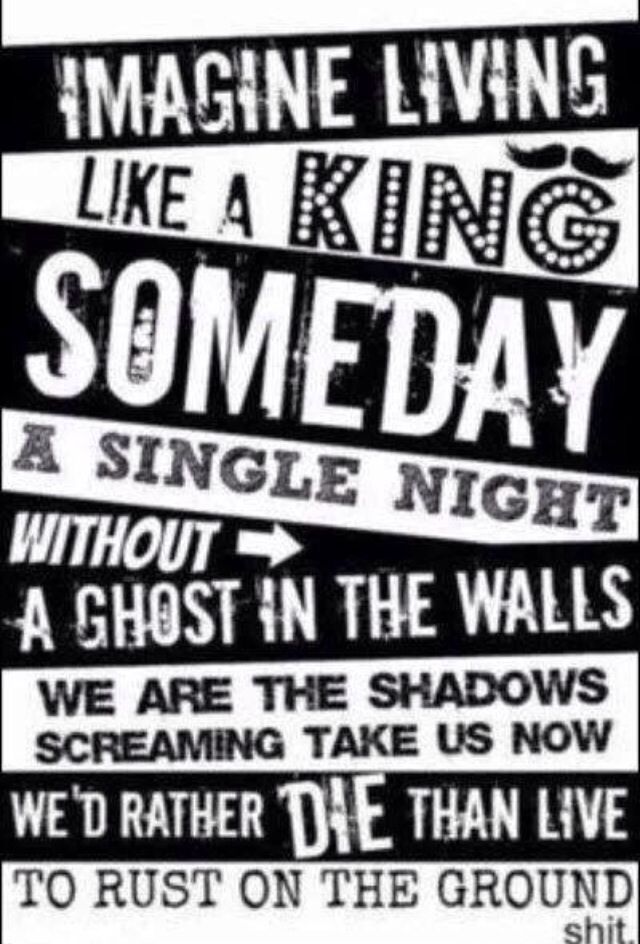 Pierce The Veil Wallpaper Lyrics King For A Day