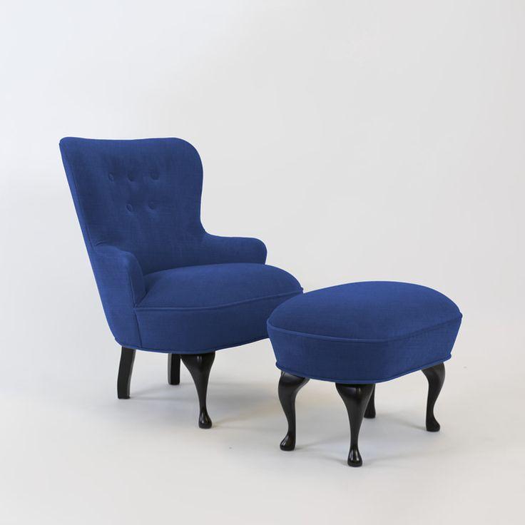 April lenestol Linara Bilberry Formaterial - Kjøp møbler online på ROOM21.no