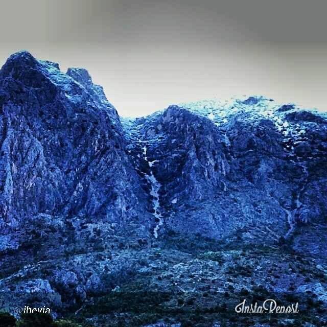 Puig Campana nevado