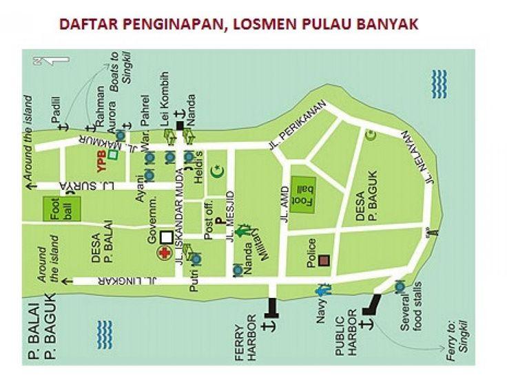 Penginapan, Losmen, Bungalow, Home Stay Di Pulau Banyak Aceh Singkil