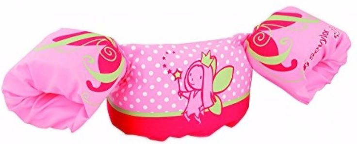 Girl's Children's Swimming Aid Trainer Puddle Jumper Flotation Device Pink