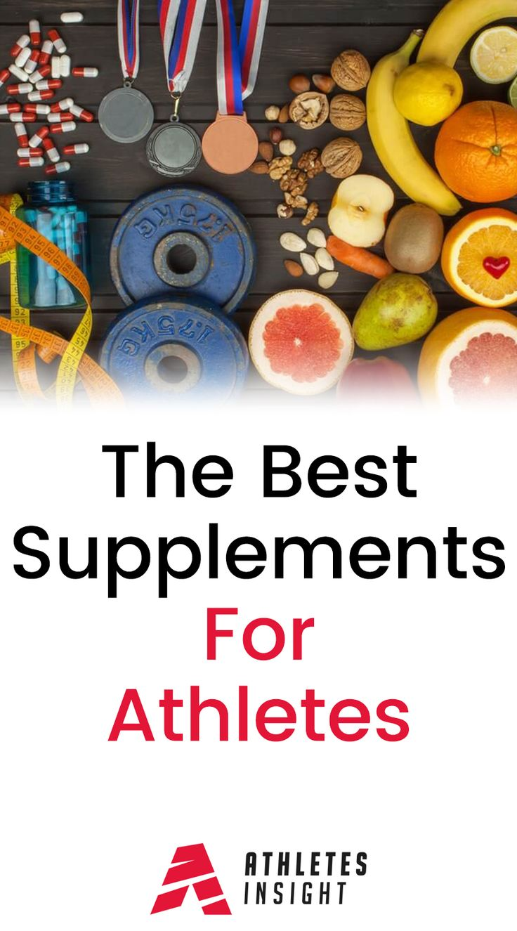The Best Supplements For Athletes