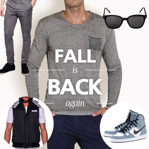 Editors picks: Fall is Back! Το φθινόπωρο ήρθε και δεν πρέπει να σας βρει απροετοίμαστους! Αναλυτικότερα, εδώ: http://goo.gl/sLhac1 #fall #andrika #menswear #fashion