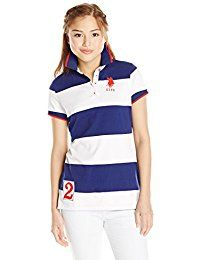 New U.S. Polo Assn. U.S. Polo Shirt Assn. Juniors' Rugby-Stripe Polo Shirt online. Find the perfect SE MIU Tops-Tees from top store. Sku VMCA98610VZZM21647