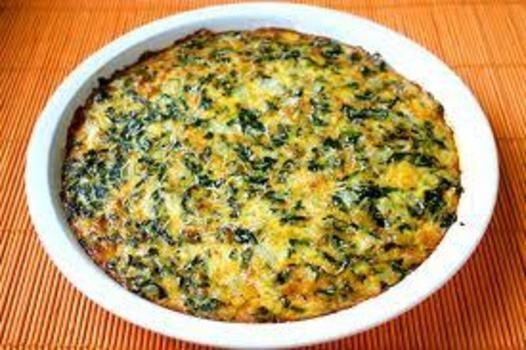 Spinach pie Phase 1 Atkins.com